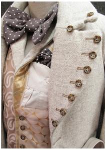 19th century frock coat; nineteenth century frock coat; tailoring;