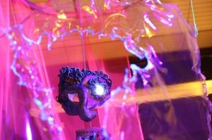 Howl's Moving Castle; UV installation art; Studio Ghibli; ultra violet light;