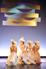 Alvin Ailey; wade in the water; jazz; parasol; 19th century costume; black dance; african american; millinery;