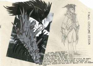 Howl's Moving Castle; Studio Ghibli; 18th century frock coat; tricorn; feathers
