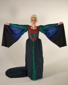 Shakespeare; Lady Macbeth; embellished costume; elizabethan;